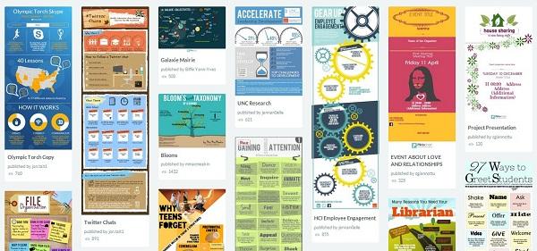 Примеры инфографики