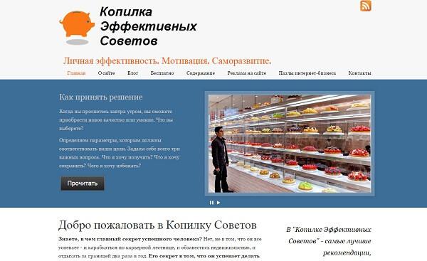копия сайта 2013